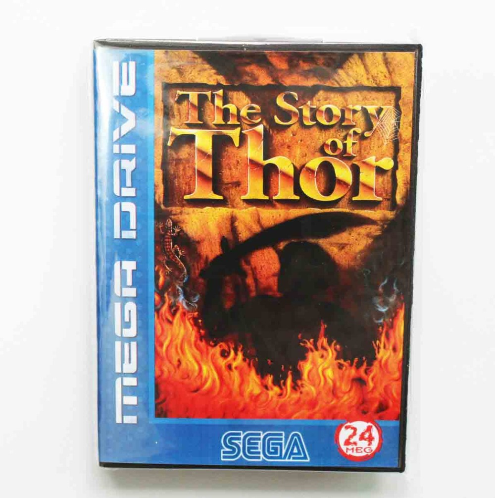 d85678093c3 Beyond Oasis (aka The Story of Thor) Game Cartridge 16 bit MD Game Card