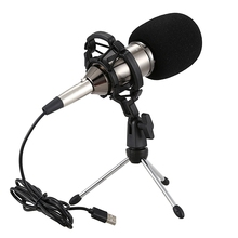 Hzm&C Microphone Condenser Sound Recording Upgraded Bm 800 Usb Wired Microphone with Shock Mount for Radio Singing Recording K недорого