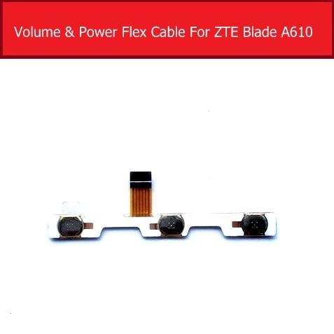 Genuine Power & Volume Flex Cable For ZTE Blade A610 Power