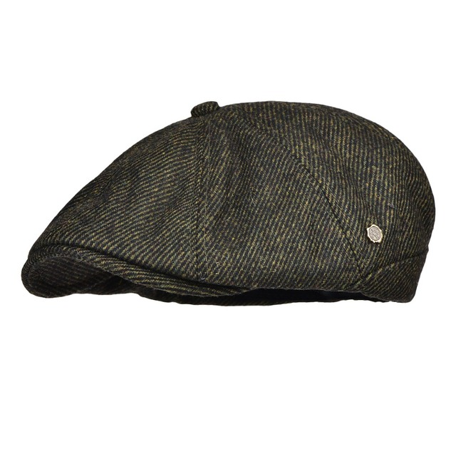 729d0b6365c9f VOBOOM Flat Cap Men Autumn Winter Woolen Blend Gatsby Cabbie Hat Warm Soft  Newsboy Male Boina 189