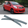 4pcs Blade Side Windows Deflectors Door Sun Visor Shield For Toyota Yaris 2008-2014