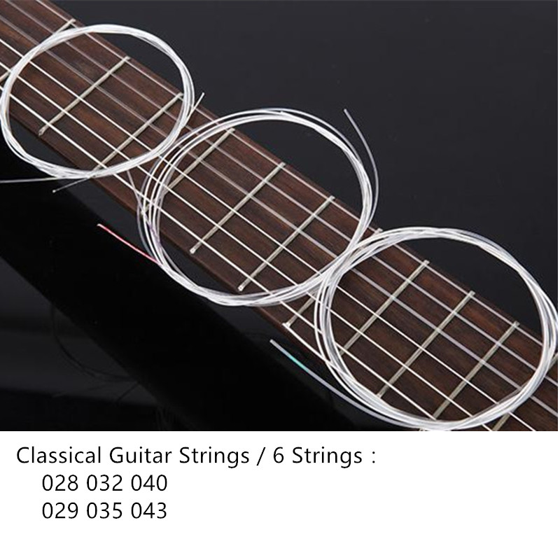 High Quality Classical Guitar Strings C27 028-043  Strings For Classical Guitar String classical guitar strings set cgn10 classic nylon silver plated normal tension 028 045 classical guitar strings 6strings set