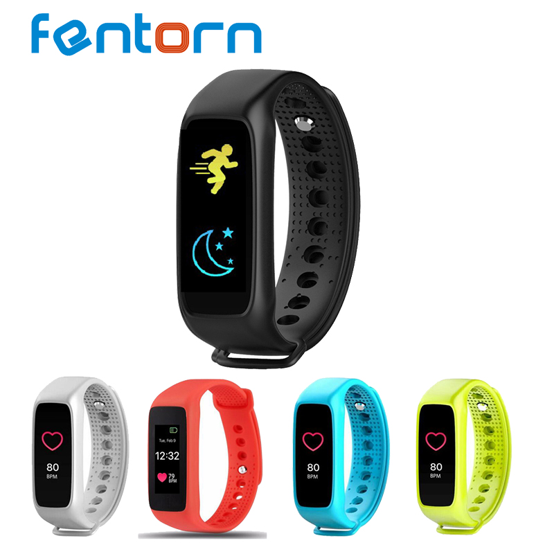 Fentorn L30T Bluetooth Smart band Call Message reminder Wristband heart rate monitor fitness tracker For android