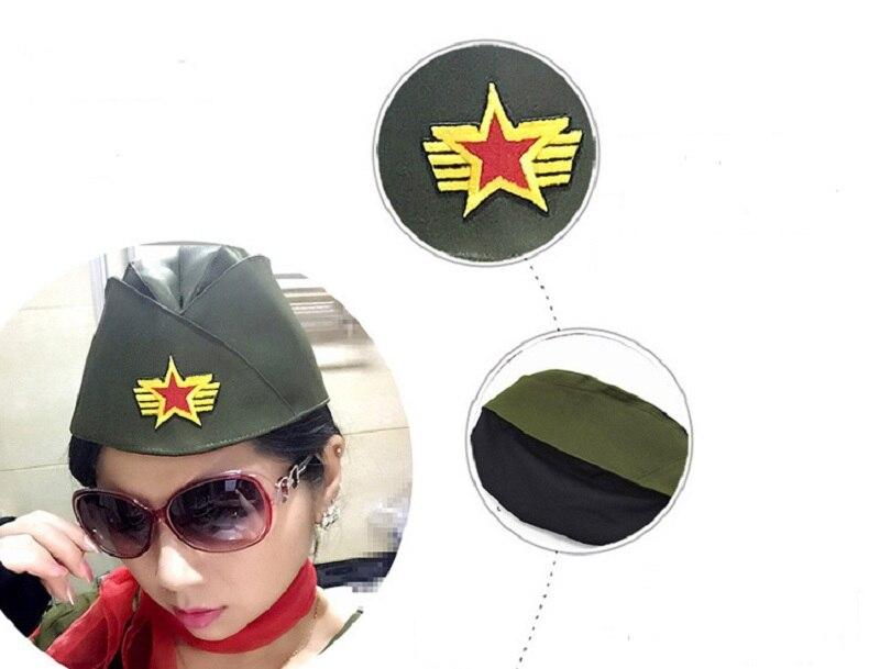 Rot Sicherheit Berets Caps Für Erwachsene Männer Kinder Bühne Leistung Sailor Navy Kappe Militär Hüte QualitäT Zuerst Militärhüte