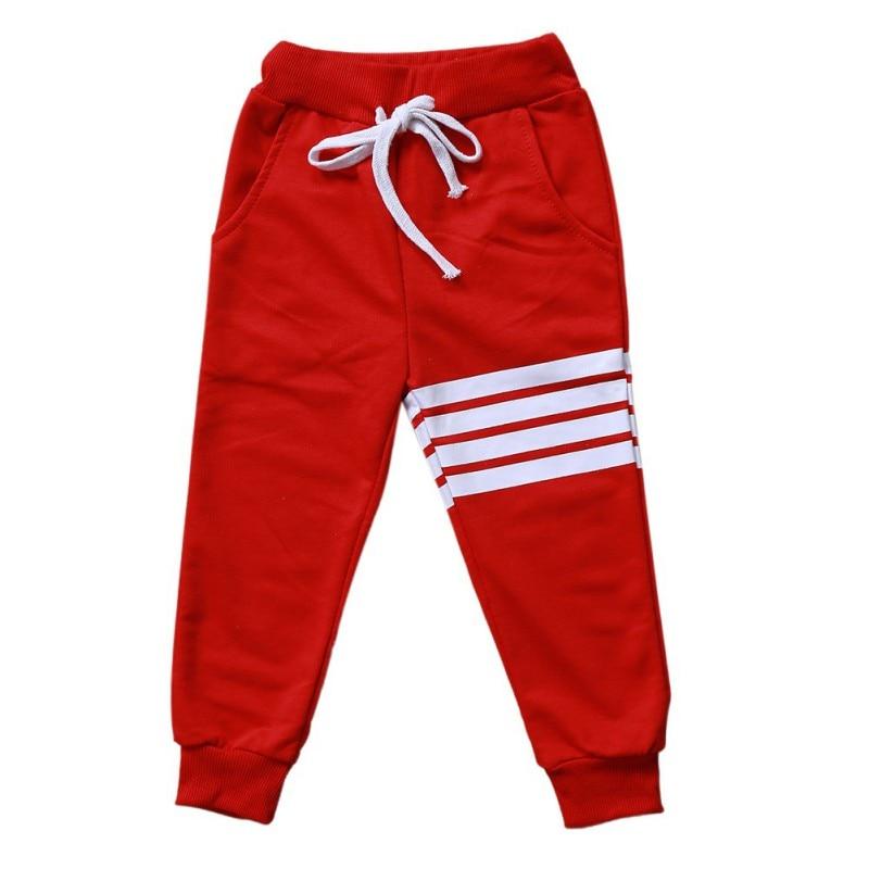 Kids Pants Baby Boys Casual Pants Kids Clothing Cotton Boys Long Trousers Baby Boys Clothing Sport Pants Spring 4
