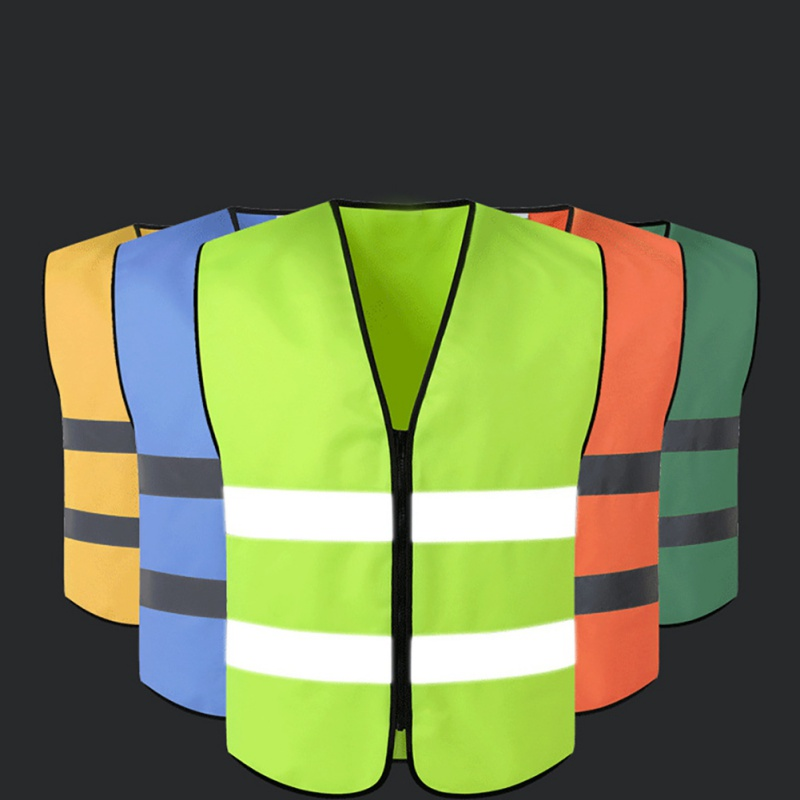 2018 Outdoor Workwear Motorcycle Cycling Safety Clothing New Reflective Vest High Visibility Road