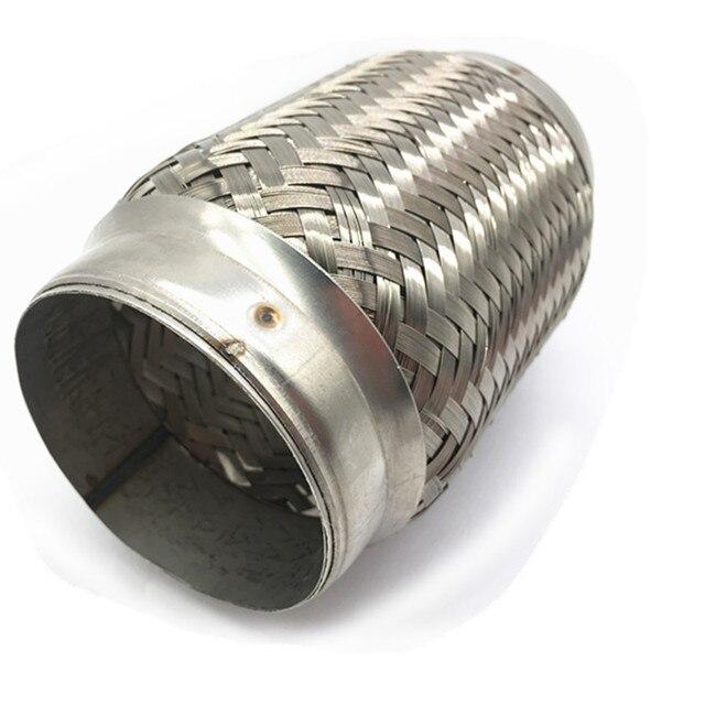 3 x 6 stainless steel exhaust flex