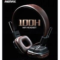 Original Remax RM 100H High Compatibility HiFi Headphone Stereo Music Earphone Headset Headband Type Smart Noise