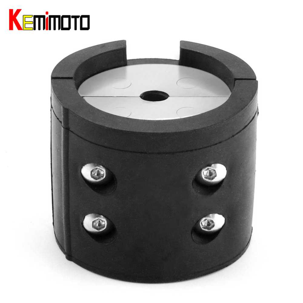 KEMiMOTO ATV UTV Winch Cable Hook Stopper Winch Line Saver Stopper Rubber Cushion Alloy stell Stopper For Polaris RZR 900 1000