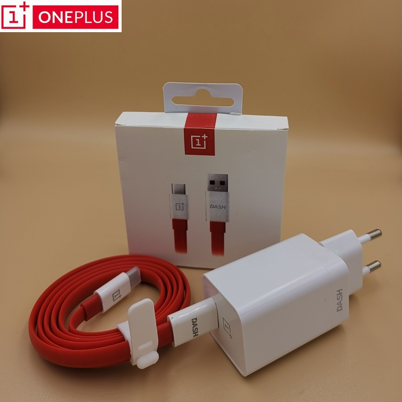 Original Oneplus Dash Charger 5V4A For One plus 6T <font><b>5</b></font>/5T/3/3T Dash Charge Adapter 1M/1.5M Flat Round Dash <font><b>USB</b></font> Charge Type C Cable image