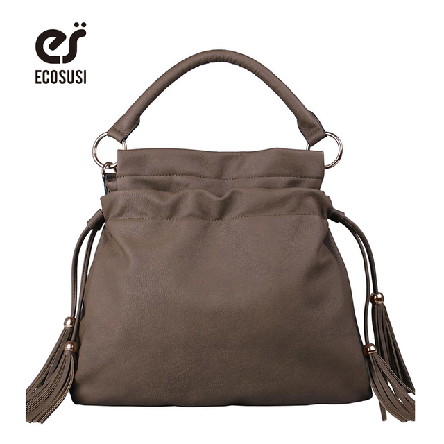 ECOSUSI New 2015 Brand Women Handbag Vintage women messenger Bag Tote Lady Trendy Shoulder Bags Cross body bag