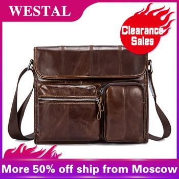 48f524466f8f Product Offer. WESTAL сумка мужская натуральная кожа мужские сумки ...