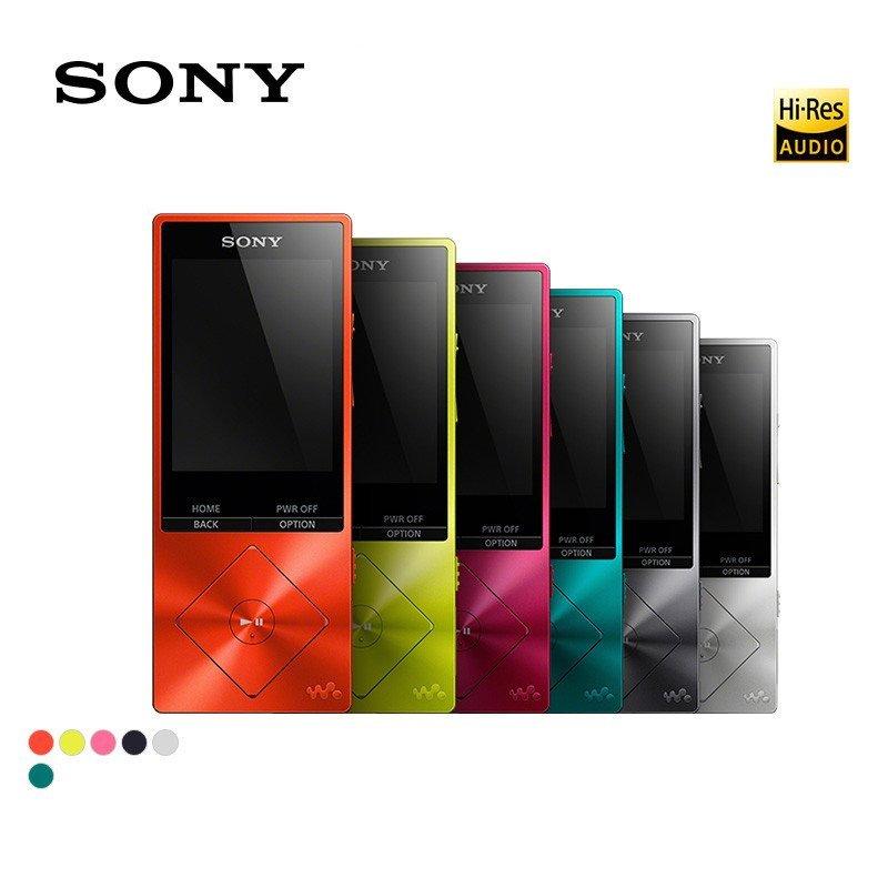 Цифровой музыкальный плеер Sony Walkman, бывший в употреблении, 16 ГБ, с Hi-Res аудио