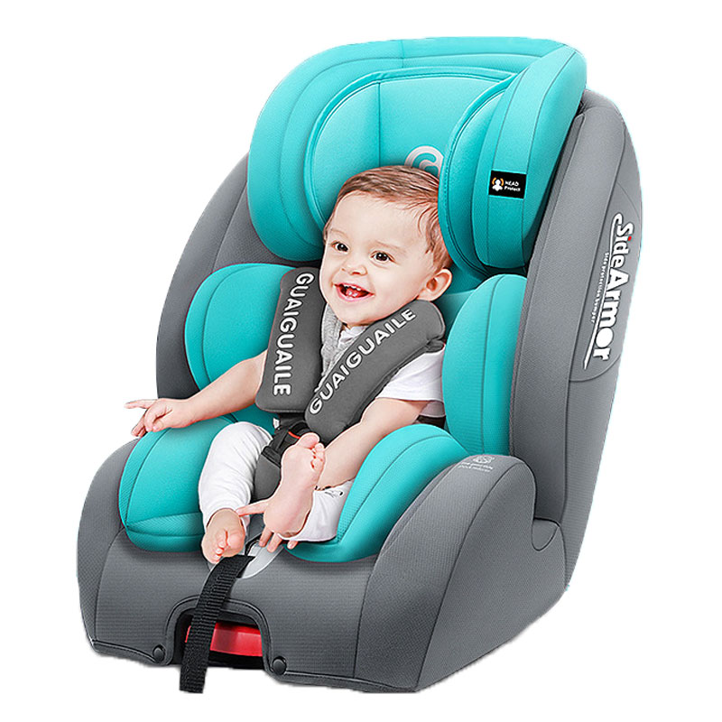 Child Car Safety Seat Baby Infant Car Booster Seat Safety Chair Universal Isofix Five-point Harness for Kids Car Safety 9M~12Y