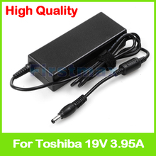 75W 19V 3.95A for Toshiba Laptop battery Charger PA3468E-1AC