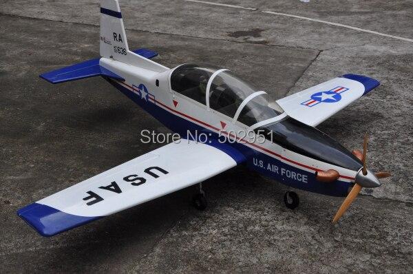 T-6A 30cc gasoline  model aircraft aircraft /  balsa model model aircraft