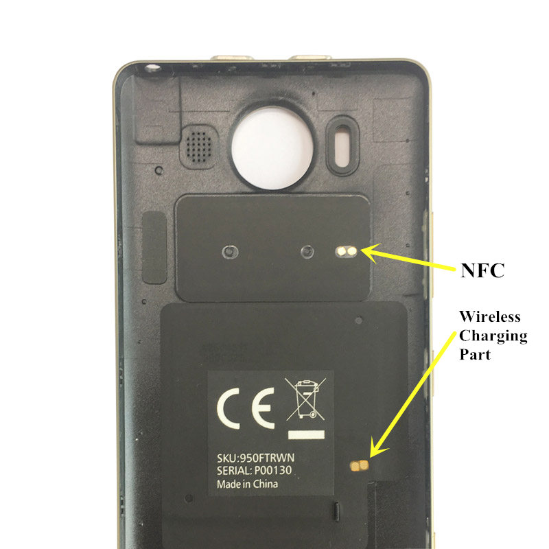 Image 5 - Genuína lumia 950 Mozo Flip Caso de Couro de Vaca para Microsoft  lumia 950 Notebook Cases para Nokia lumia 950 Tampa Traseira NFC    QIleather flipleather backleather flip cover