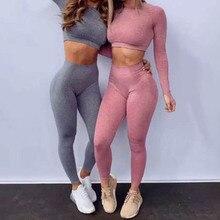 New Fashion Push Up Seamless Legging Women Tummy Control Gym Athletic Sport Leggings High Waist Dot Yoga Pants