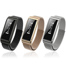 Sensible Wristband Bluetooth Pedometer IP67 Waterproof Sensible Bracelet Coronary heart Fee Monitor Health Tracker for IOS Android Cellphone