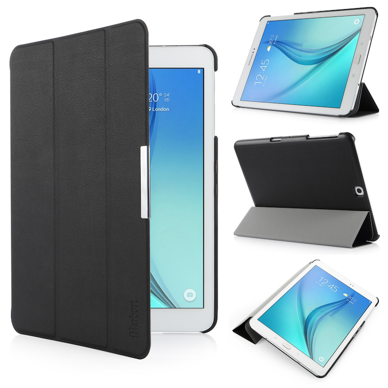 Stand Case for Samsung Galaxy Tab S2 9.7, SM-T810 T813, iHarbort PU Leather Case smart Cover with Multi-Angles holder Stand