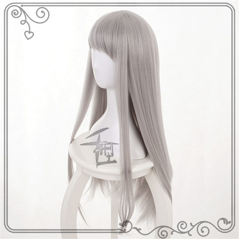 New Japan Anime Blend S Kanzaki Hideri Long grey hair Cosplay Wig +Free Cap  Cosplay Costume Accessories-in Costume Accessories from Novelty   Special  Use on ... 29fd17d90aee