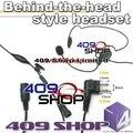 Behind-the-head style headset + Mini Din Plug 44-M CP88 CP100 CP150 CP200 HYT TC-500 FD-150A FD-160A FD-450A FD-460A PX-999