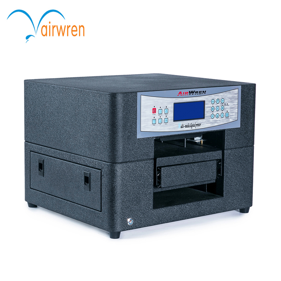 Popular A4 Size Haiwn-T400 T Shirt Printer Digital T-Shirt Printing Machine