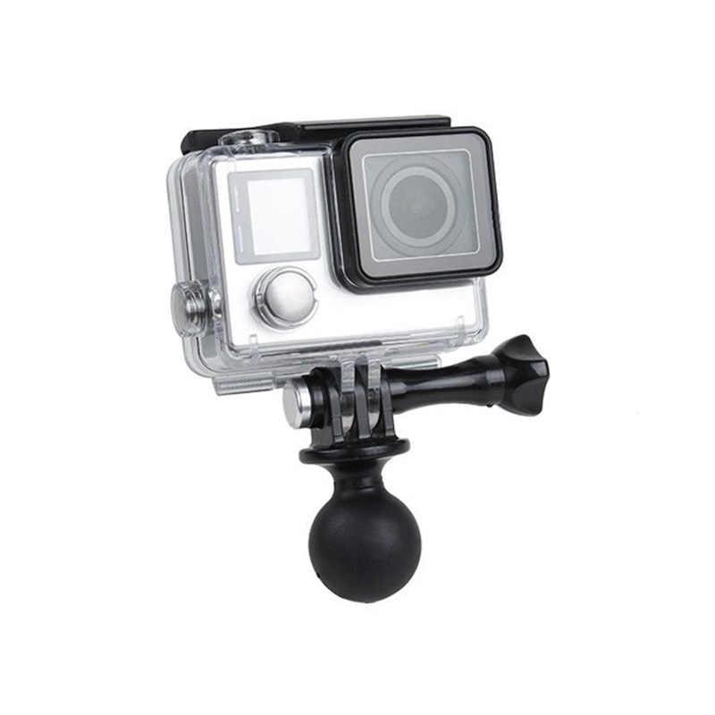 Draagbare Ram Mount Statief Bal Hoofd Adapter Voor Gopro Hero 5 4 3 + 3 2 Camera Ram Mount Adapter ball Spin Hoofd Beugel Houder