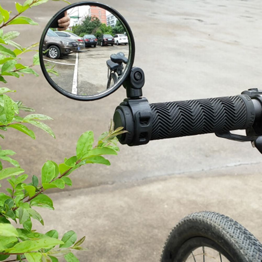 Bicycle Rearview Mirror Universal Handlebar Rearview Mirror 360 Degree Rotate Rear View For Bike MTB Bicycle Cycling Accessories