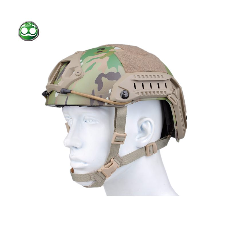 nHelmet Tactical Helmet FAST LOGO Protective ABS Maritime Wargame Airsoft Multicam NH01101 tactical wargame motorcycling helmet w eye protection glasses grey black size l7