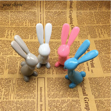 1Pcs/lot New style cute rabbit ballpoint pen cartoon gift pen creative pen 1.0MM for school children's toy pen цена