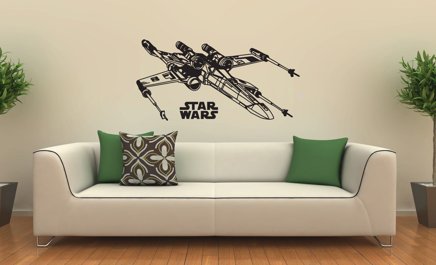 C013 new star wars x wing fighter wall decal black wall stickers c013 new star wars x wing fighter wall decal black wall stickers large 116cm x 58cm free shipping in wall stickers from home garden on aliexpress amipublicfo Choice Image