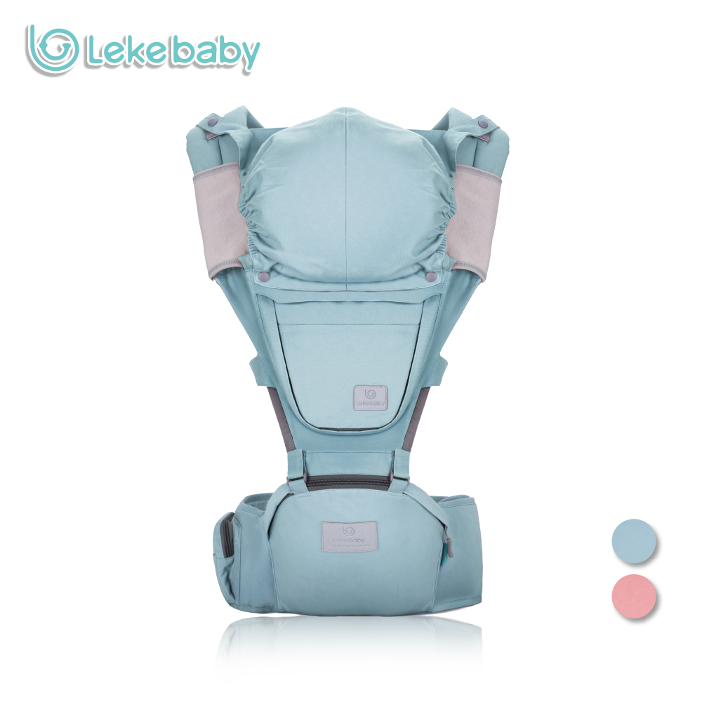 Lekebaby Baby Carrier Four Seasons Multifunctional Baby Waist Stool Baby Slings for Baby 0-36M budou four seasons multifunctional baby suspenders newborn baby stool for children breathable suspenders belt