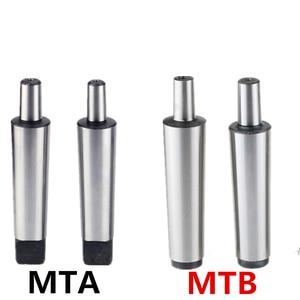 Image 1 - Tige de taraudage, mandrin, tour, machine de forage, 1 pièce MT1 MT2 MT3 MT4 B10 B12 B16 B18 B22 0.6 6/1 10/1 13/3 16/5 20 Morse