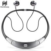 Bluetooth Headset Call Vibrate Alert HiFi Wireless Neckband Headphones Stereo Noise Reduction Earbuds Bluetooth Earphone