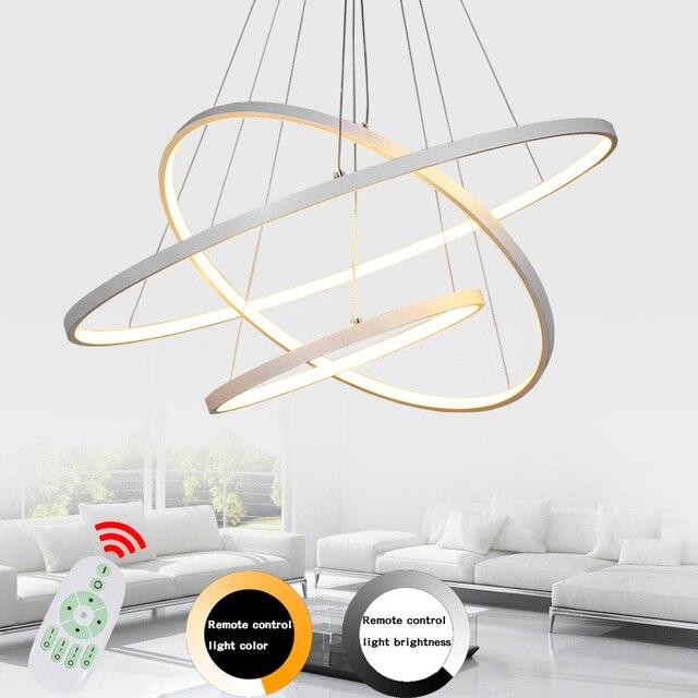 Led Modern Pendant Lights Lamp For Living Room Bedroom Lamparas