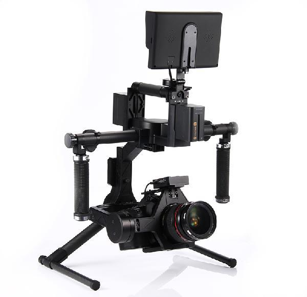 Aliencopter Swift 3-axis Gyro Stablizer Handheld DSLR Gimbal (Plug and Play) Suitable for 5D SLR electronic Steadicam