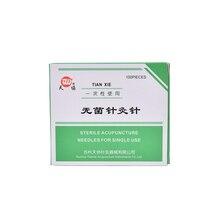 100Pcs/Set 25mm X0.25mm Stainless Steel Authentic Needles Beauty Massage Needle