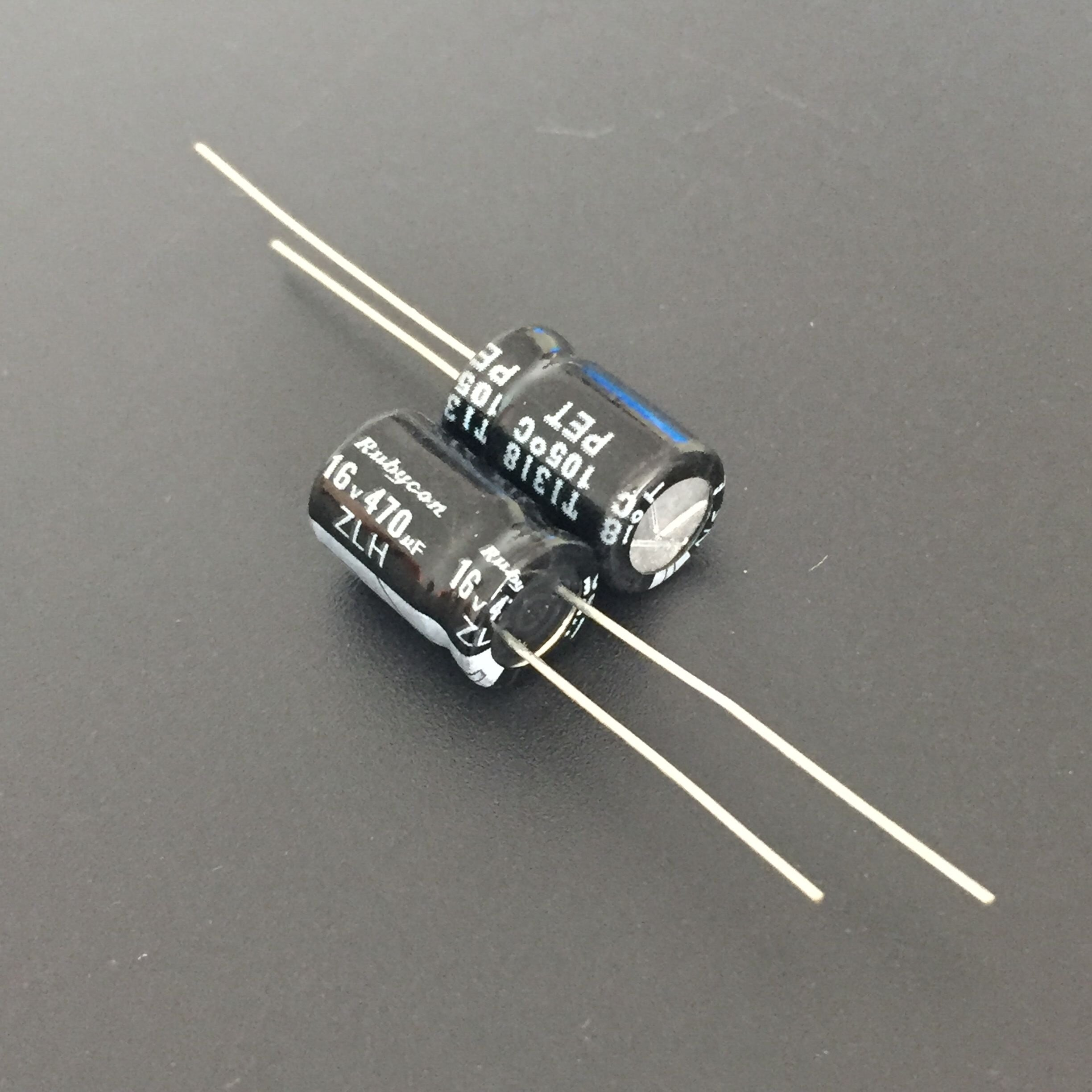 15 Rubycon YXF series 50V 10UF 105c LongLife Low impedance Japan Make Capacitor