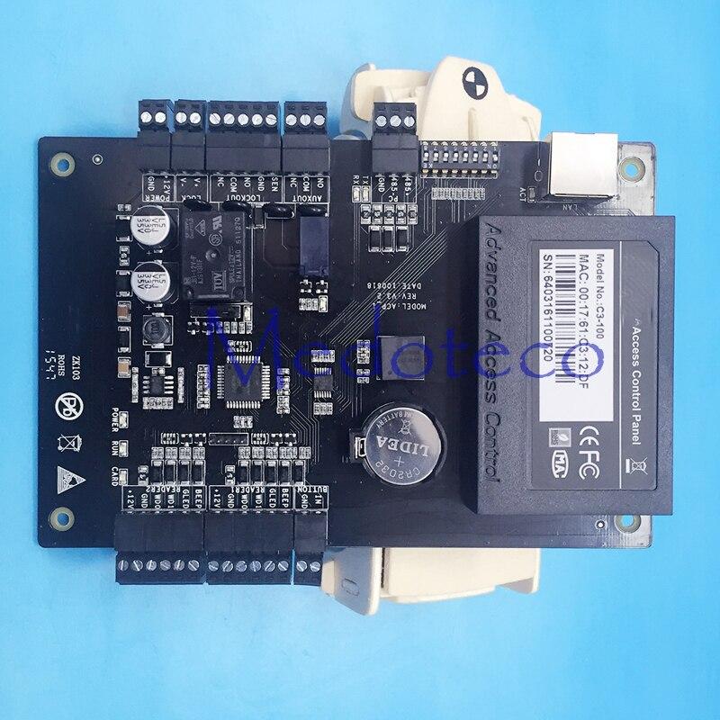 ФОТО Free shipping Tcp/ip  Network C3-100 Intelligent One-door Two-Way Door Access Control Panel for One Door Control