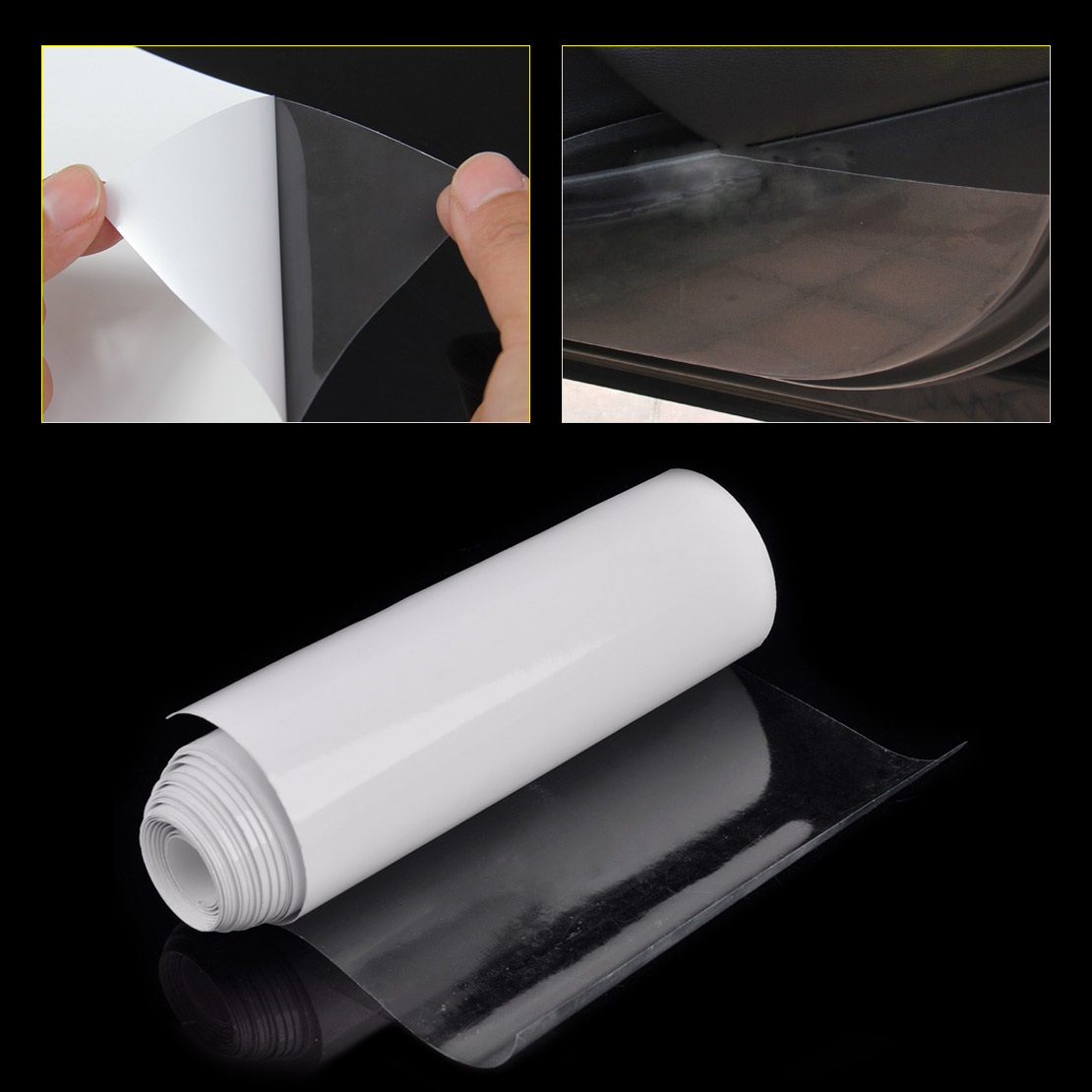 CITALL 300 x 15cm Clear Car Door Sill Edge Paint Sheet Decal Anti-Scratch Protection Film for Ford VW Audi A4 A6 Q5 Mazda Toyota free ship turbo k03 29 53039700029 53039880029 058145703j n058145703c for audi a4 a6 vw passat 1 8t amg awm atw aug bfb aeb 1 8l