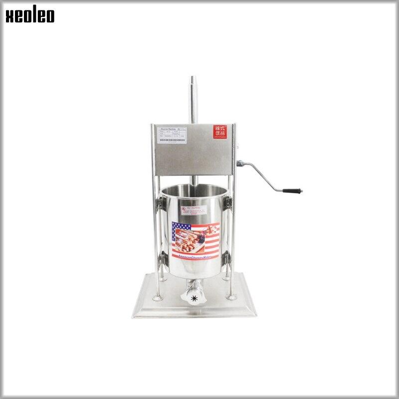 XEOLEO 7L Churros faisant la machine de remplissage de fruits Latin Gigi machine de remplissage de fruits équipement automatique Commercial d'acier inoxydable - 2