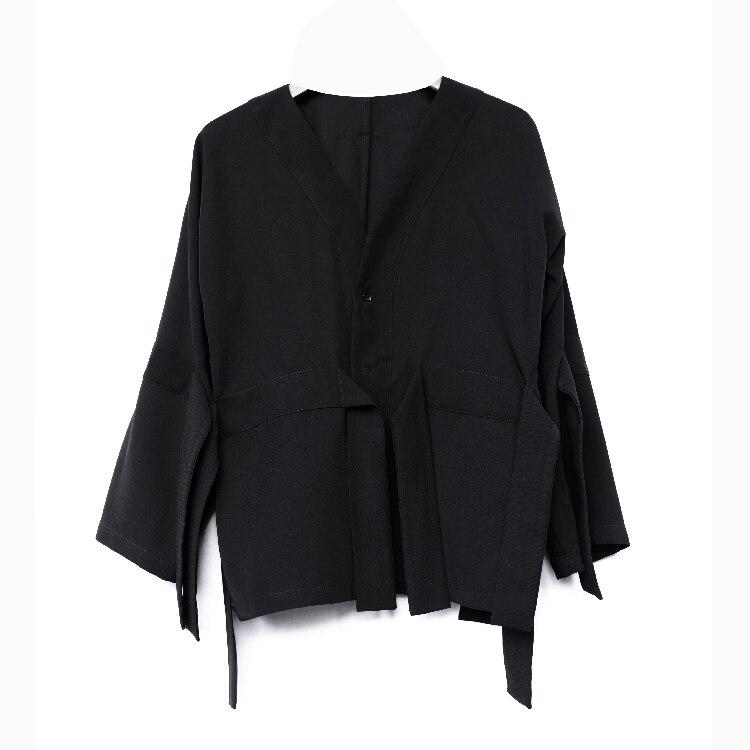 OfficiëLe Website S-6xl! Grote Mannen Shirts 2019 Nieuwe Ontwerp Mannen Originele Custom V Kraag Mannen Fashion Runway Kleding Uitstekend In Kusseneffect
