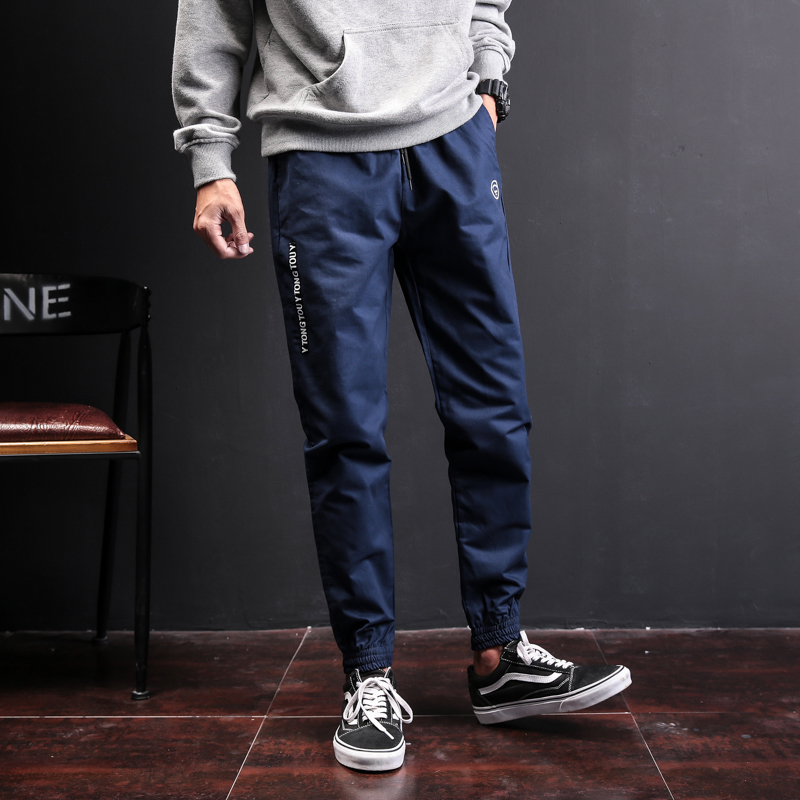 Mens Fashion Casual Pants Plus Size M-5XL 2018 spring brand high quality camouflage style simple Slim mens casual trousers