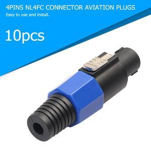 Image 2 - 10 pièces 4 pôles NL4FC 4Pin connecteur prise haut parleur Audio Ohm prise femelle prise livraison directe du fournisseur