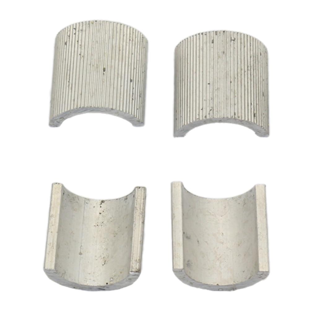 Sporting 4 Stuks Aluminium Stuur Mounts Risers Klemmen Spacers Shims Past 22mm Diameter Stuur Hoge Kwaliteit En Weinig Overheadkosten