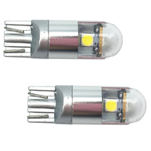 купить T10 NEW!! 2Pcs T10 W5W 3 SMD Wedge Lamp 3 LED 3030 SMD Car LED Light Bulbs 194 168 Clearance Side Marker Lighting 12V DC 5 color дешево