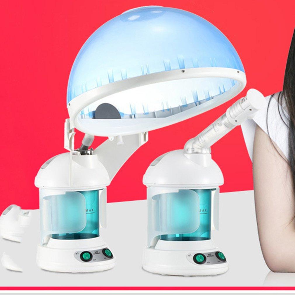 Salon hair steamer and Facial steamer ozone Aroma herbal Mist salon facial steam deviceSalon hair steamer and Facial steamer ozone Aroma herbal Mist salon facial steam device