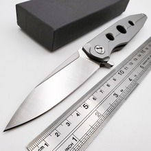 лучшая цена Radiation Tactical Folding Knife D2 Blade Army Outdoor Survival Diving Pocket Knives Camping Hunting Combat Knife Multi EDC Tool