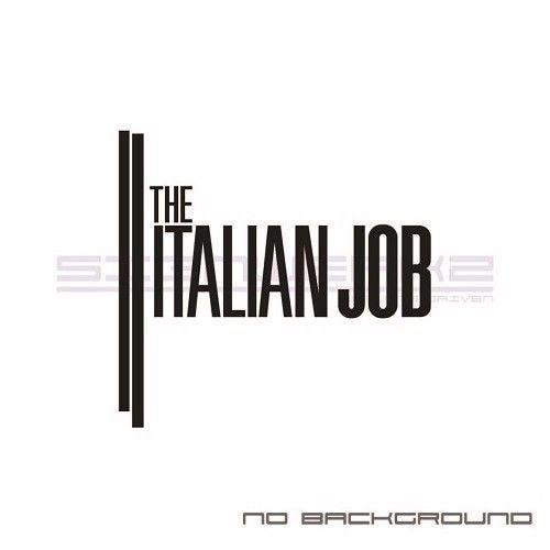 Italian Job Sticker Euro Racing JCW mod illest countryman mini paceman Pair